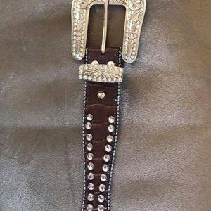 Accessories - Blazin Roxx rhinestone belt